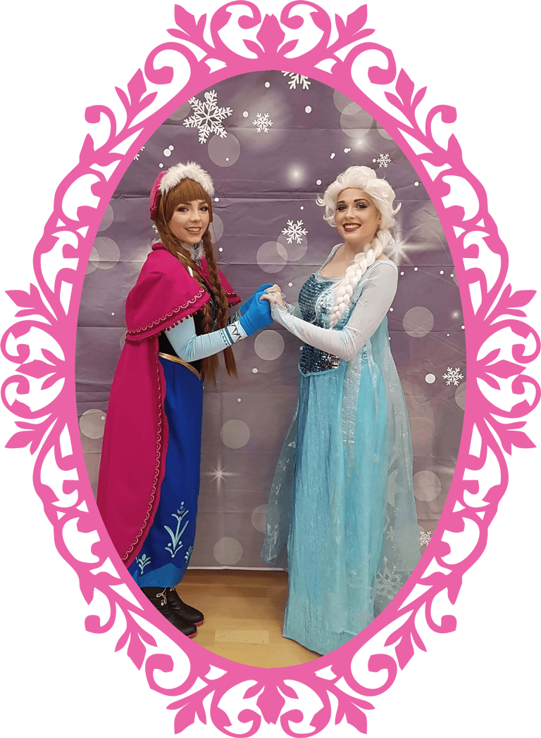 Snow Sisters Princess Party